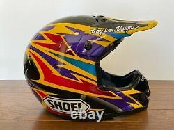 Vintage SHOEI VF-X2 DAMON BRADSHAW Motocross Helmet Size S Troy Lee Designs NOS