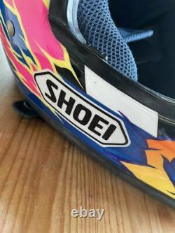 Vintage SHOEI VF-X2 Jeff Emig Replica Motocross Helmet Troy Lee Designs Size M