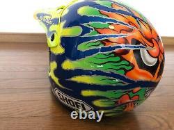 Vintage SHOEI VF-X2 Motocross Helmet Jeff Matiasevich CHICKEN Reprica Size L
