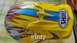 Vintage SHOEI VFX-R HAMBLIN Motocross Helmet Size L Yellow NOS Unused