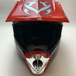 Vintage SHOEI VFX-R HOT WHEELS2 Motocross Helmet Size L Troy Lee Designs NM