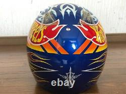 Vintage SHOEI VFX-R Motocross Helmet HOT WHEELS Size M Troy Lee Designs Used