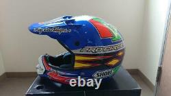 Vintage SHOEI VFX-R Motocross Helmet PRO CIRCUIT Size M Troy Lee Designs Used