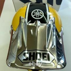 Vintage SHOEI VFX-R Motocross Helmet US YAMAHA Yellowith Black M NOS