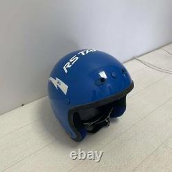 Vintage SHOEI VJ-201 Motocross Open-Face Helmet No VIsor Blue Size M Used BMX