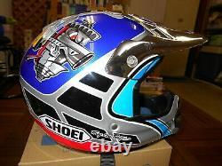 Vintage Shoei Motocross Helmet Vfx-r Doug Henry Limited Edition Yamaha