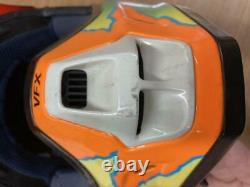 Vintage Shoei VF-X TROYMAX Size L Motocross Full-Face Helmet