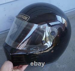 Vintage Simpson Black Darth Vader Motorcycle Motocross MX Helmet Full Face 7.5