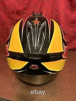 Vintage TLD TROY LEE DESIGNS Motocross HELMET Racing SPEED EQUIPMENT Size SMALL
