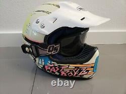 Vintage Yamaha Motocross Bell Helmet Moto 6