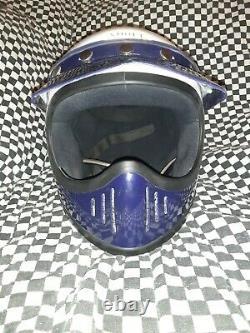 Vintage shoei supra -x MOTO 3 MOTO CROSS HELMET xl snell 80 bell Simpson
