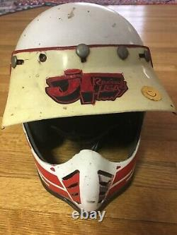 Vtg 70s 80s BELL MOTORRAD STAR 3 Motocross Racing helmet Size 7-1/4 58cm JT