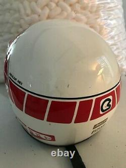 Vtg 80s 90s Bieffe BX6 Helmet Motocross Italy MX TEAM Snell 85 XL GR1350 w bag