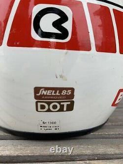 Vtg Bieffe Full Face Helmet Dirt Bike Motorcross 80s 90s Italy Size XL 61 cm