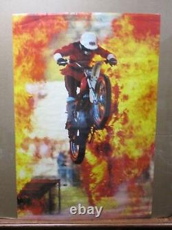 White Helmets British Riding Team motorcycle 1979 Motocross in#G2585
