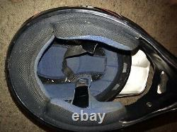 XL VINTAGE Mx Helmet SHOEI / Troy Lee Red Black Silver USA Seller Ships ASAP